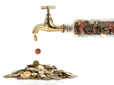 leaking+money